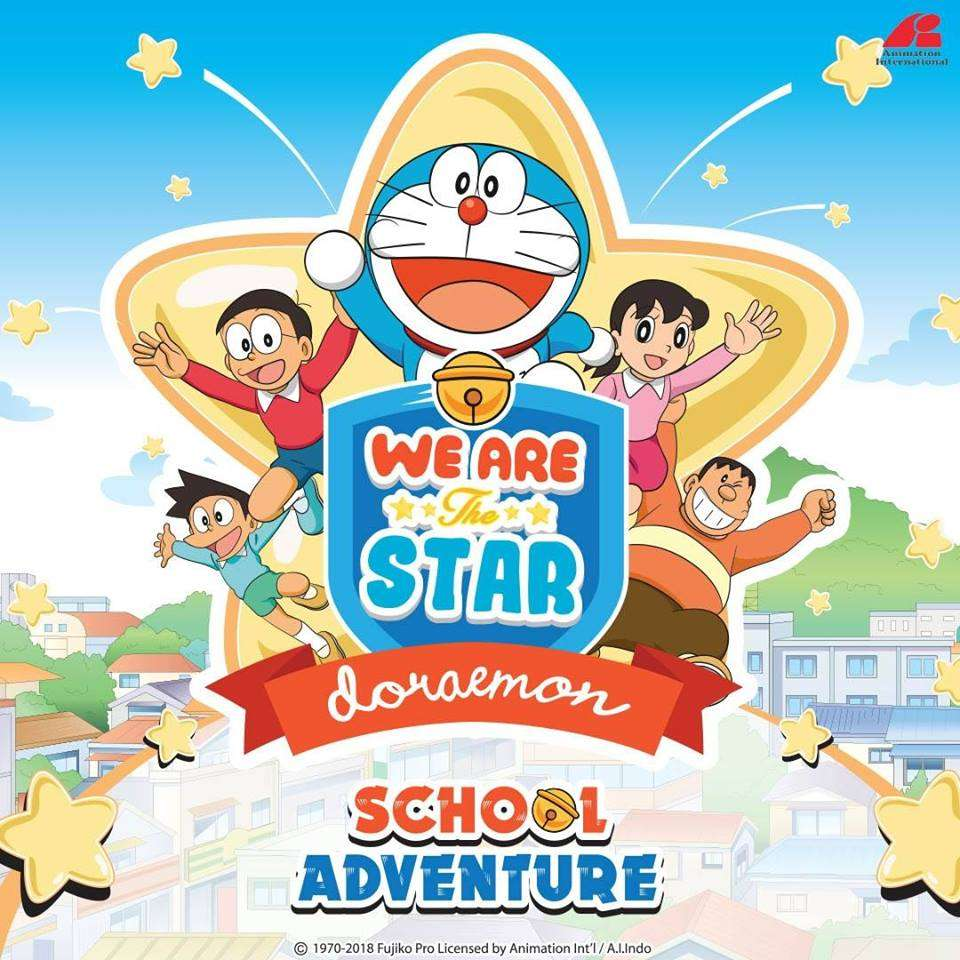 Foto Doraemon Dan Teman Teman