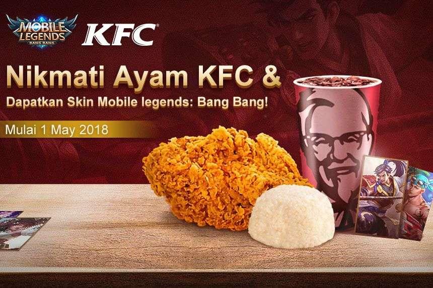 Image result for kfc skin mobile legends