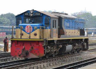 Lokomotif Class 2900 milik Bangladesh Railway buatan Hyundai Rotem (Wikimedia / Ifthekhar Omer)