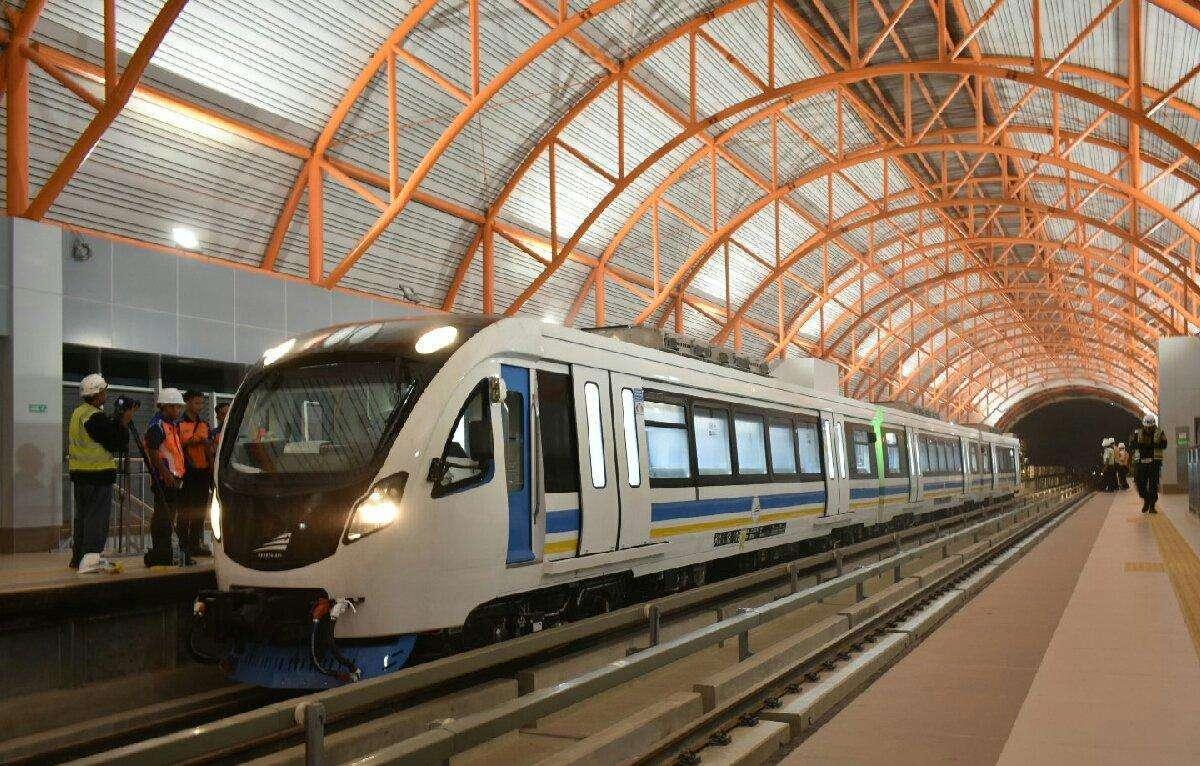 Rangkaian Pertama LRT Palembang