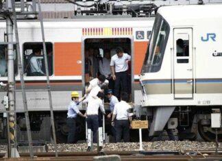 Gempa Guncang Kansai, Layanan Shinkansen Tokaido Lumpuh