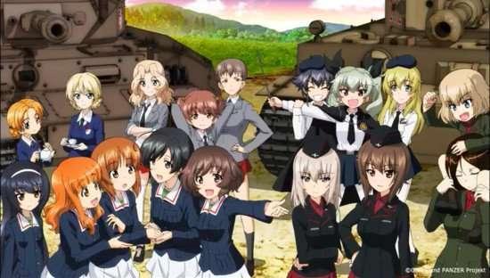 Bagian Kedua Dari Film Girls Und Panzer Das Finale Dirilis Juni 2019 Kaori Nusantara