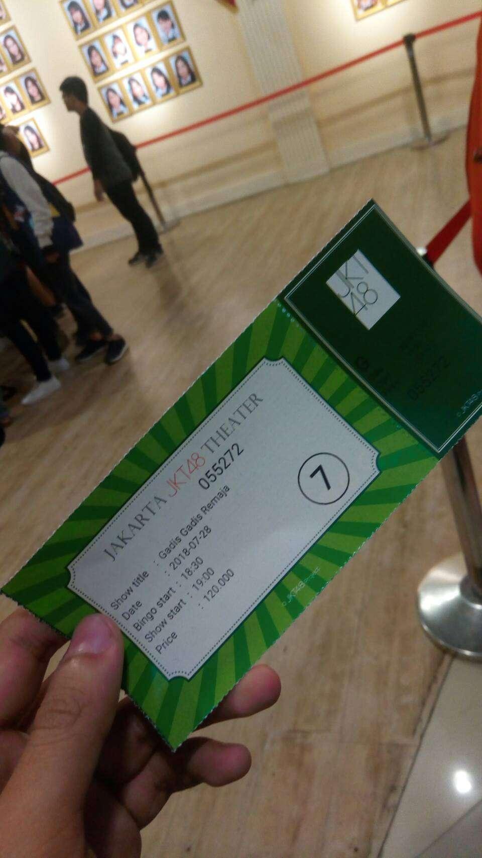 tiket theater