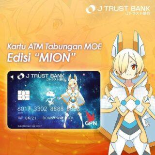 Tabungan Moe Kartu ATM Mion Idol Group Moe