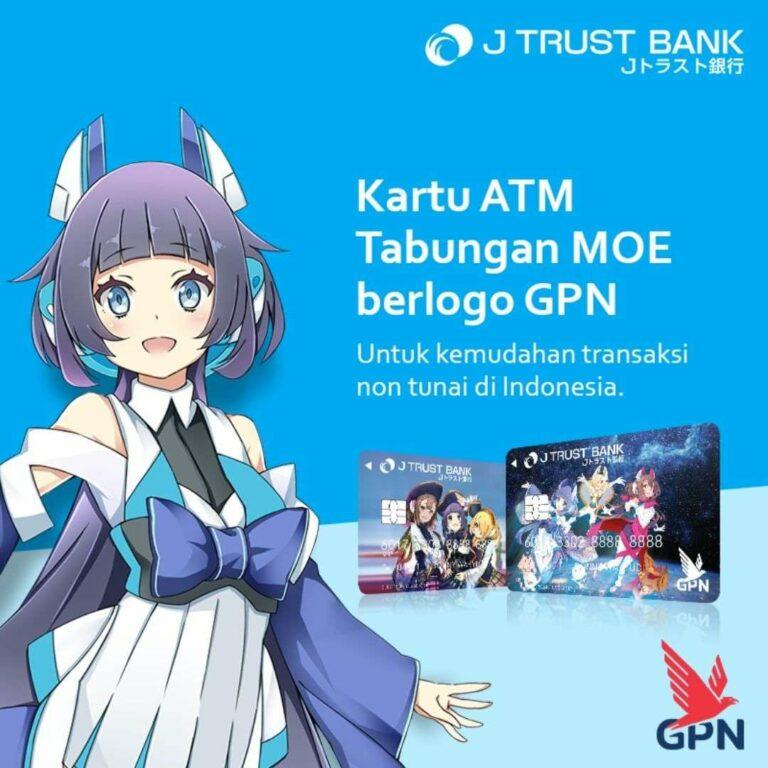 Jaringan ATM Tabungan Moe J Trust Bank, ATM Bersama, Prima, dan GPN