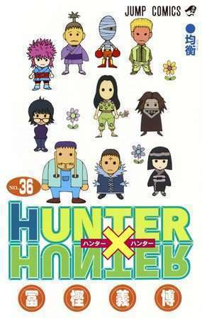 komik hunter x hunter