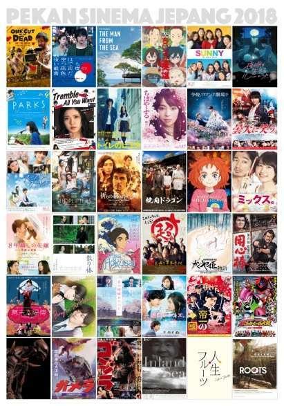 Film-Film Pekan Sinema Jepang 2018