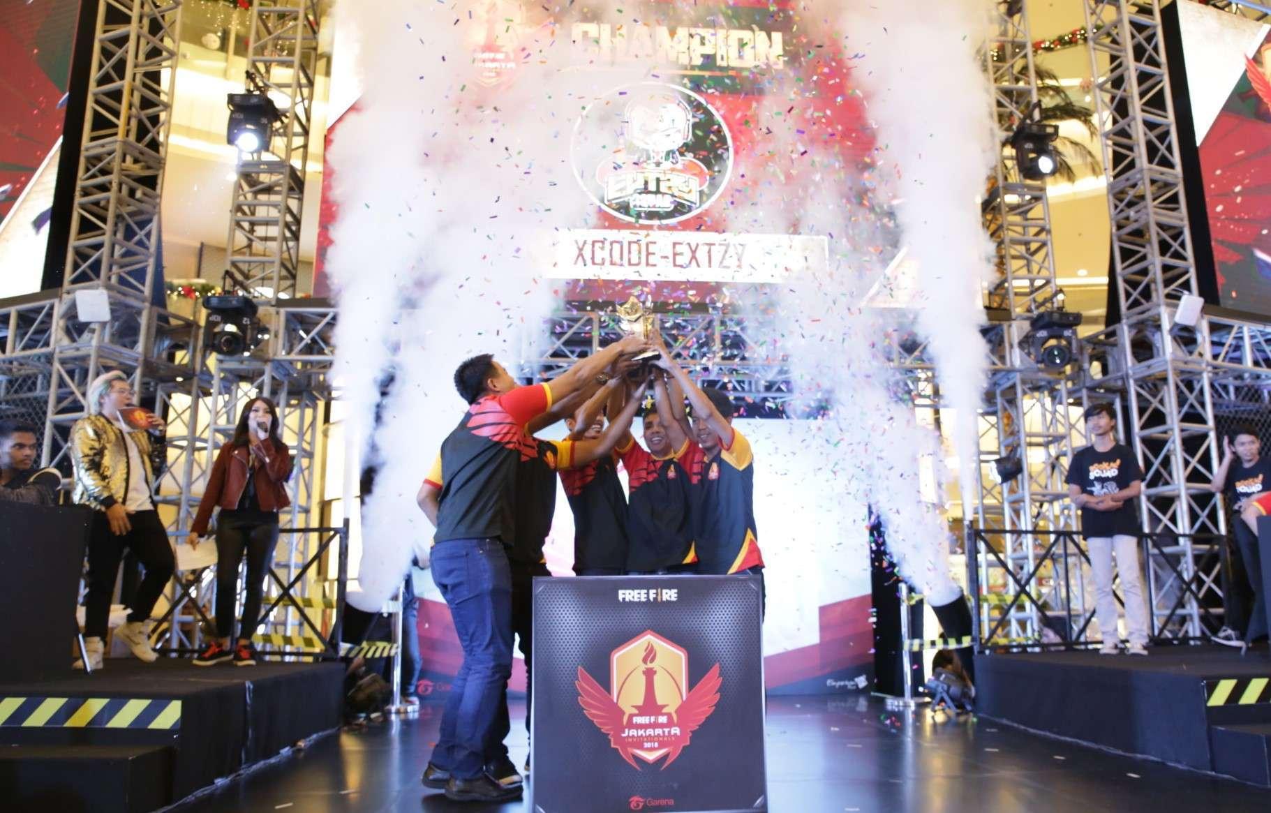 Free Fire Jakarta Invitationals 2018