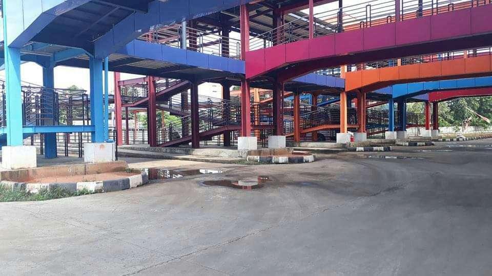 Suasana di Terminal Pondok Cabe cenderung sepi | Foto: Ananda Niko