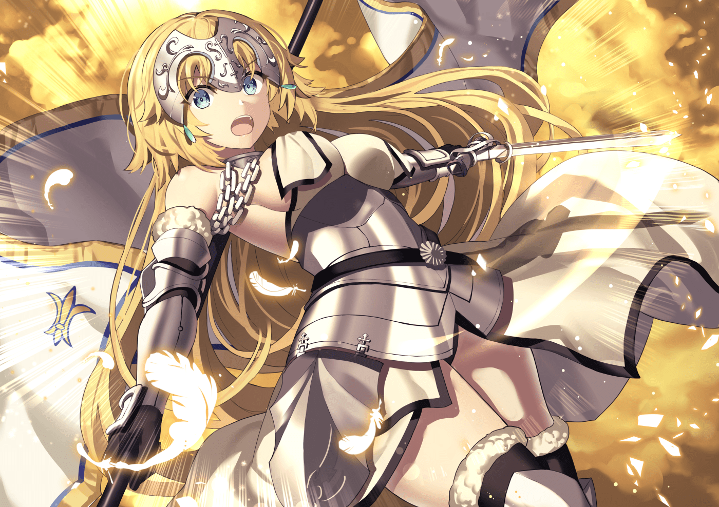 Jeanne d'Arc - Saberface - Fate Grand Order