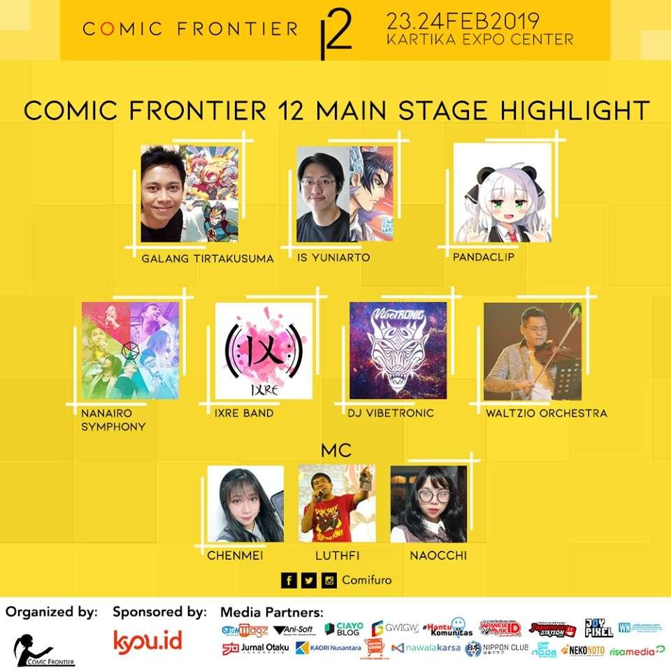 Comic Frontier 12