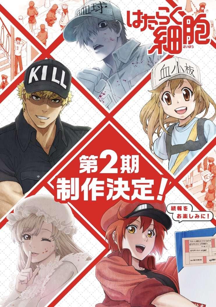 Anime Htaraku Saibou! Season 2