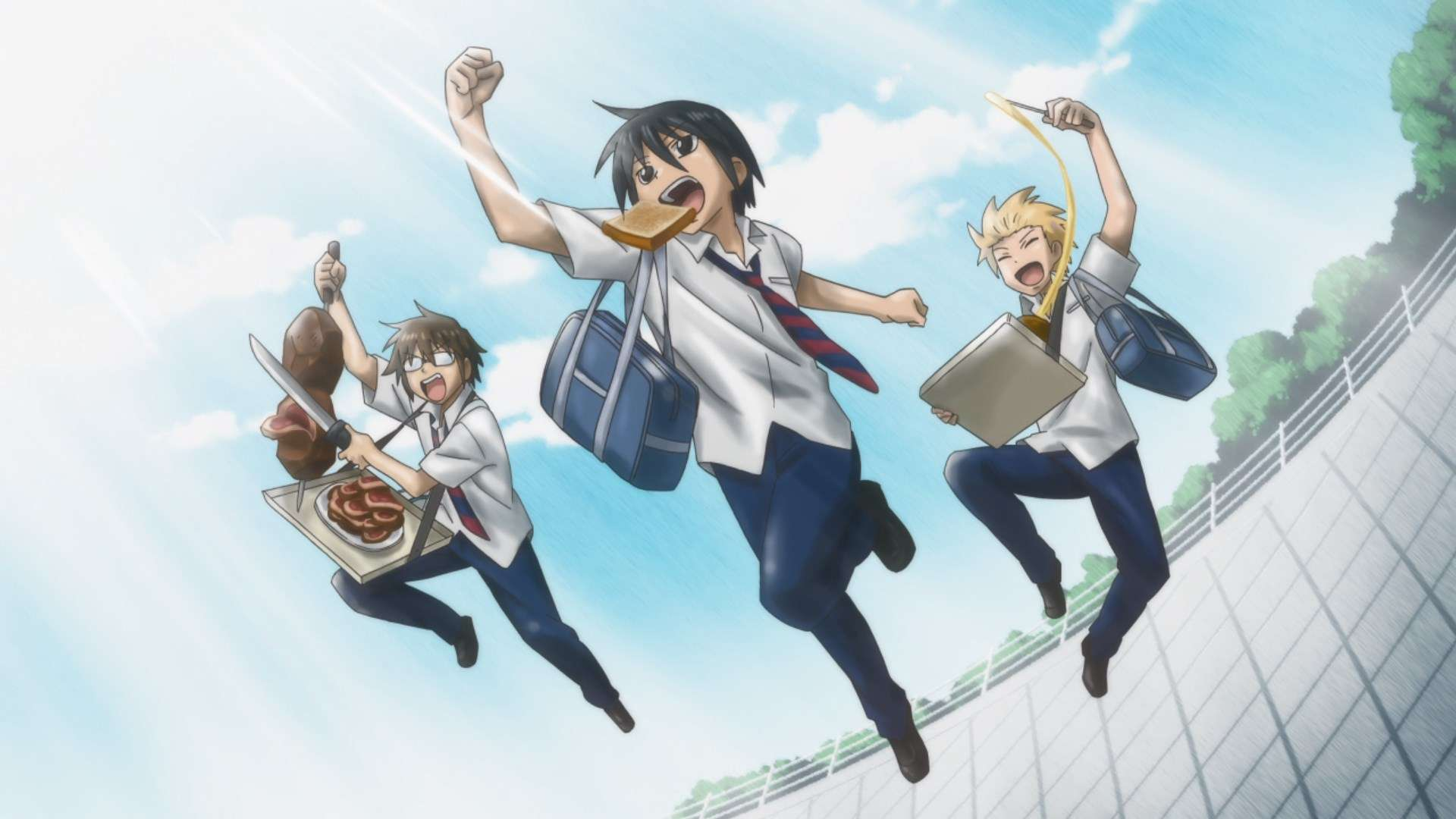 Ulasan Anime Daily Life Of High School Boys Kisah Asyik Di Sma Kaori Nusantara