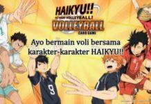 HAIKYU VOLLEYBALL CARD GAME