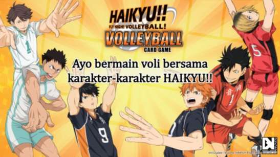 HAIKYU VOLLEYBALL CARD GAME