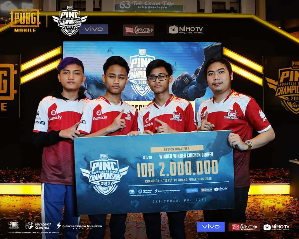 PUBG mobile Indonesia National Championship