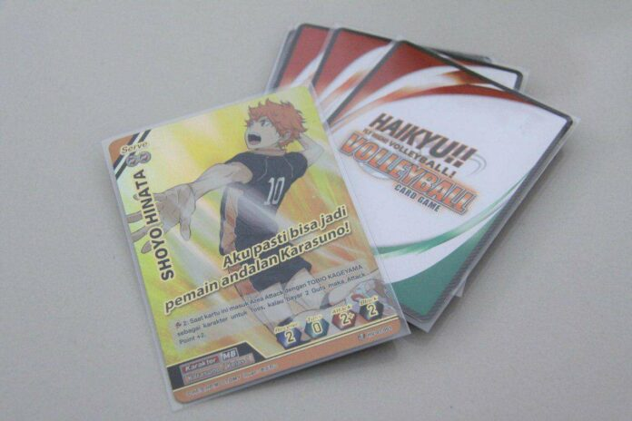 booster pack kartu tcg haikyu