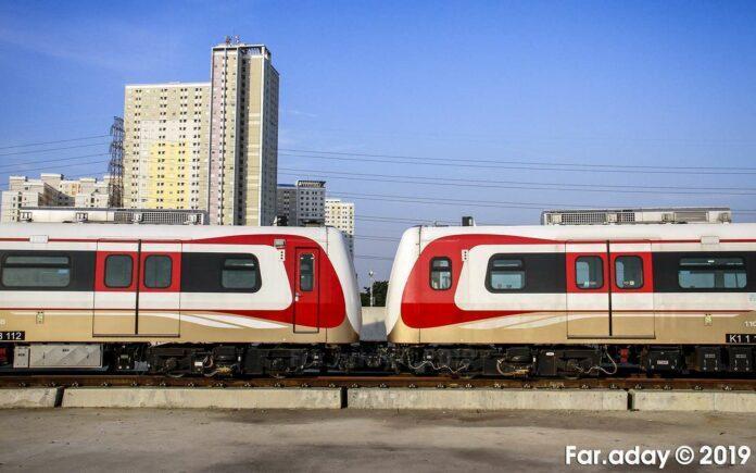 Sarana LRT Jakarta (KAORI Nusantara/Farouq Adhari)