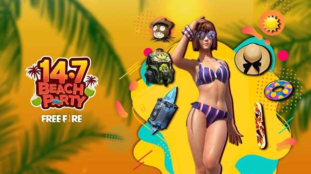 Free Fire Beach Party