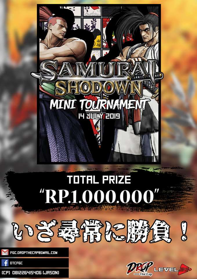 samurai showdon mini tournament