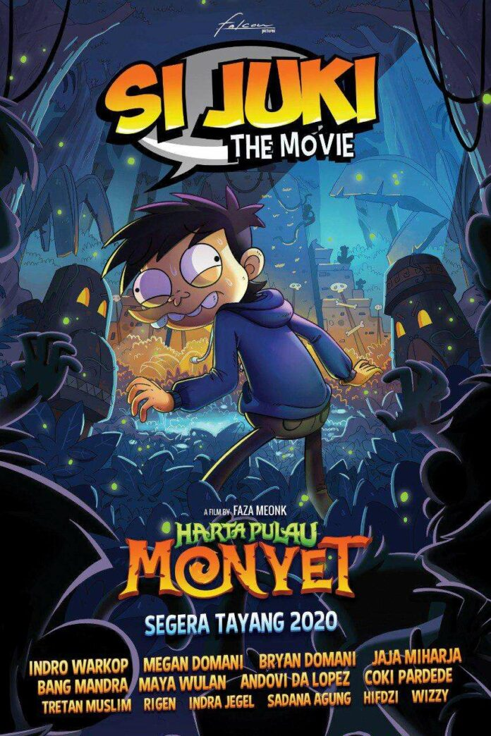 si juki the movie: harta pulau monyet