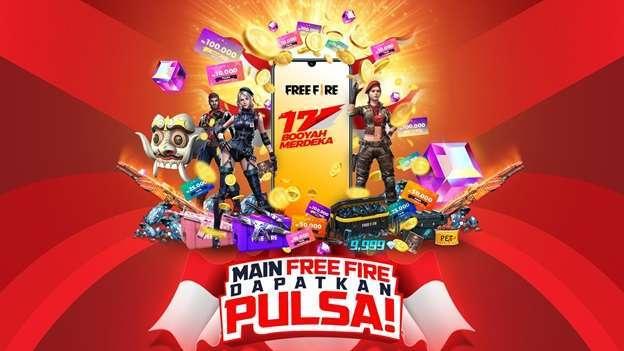 main free fire dapat pulsa