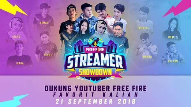 Free Fire Streamer Showdown 2019