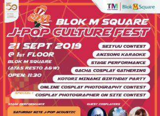 Blok M Square J-Pop Culture Fest,