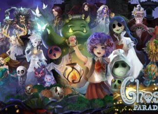 ghost parade rilis halloween