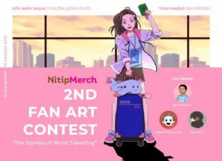 nitipmerch fan art contest