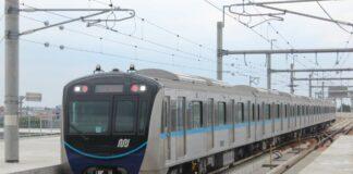 MRT Jakarta saat beroperasi