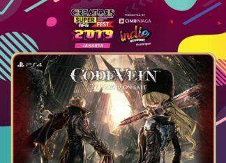creators super fest 2019 jakarta code vein