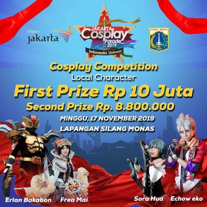 jakarta cosplay parade