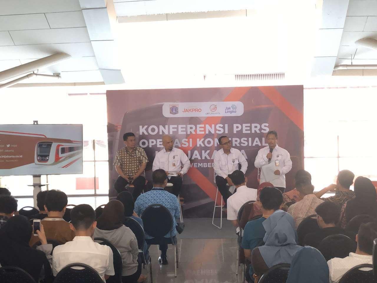 Konferensi pers yang berlangsung Kamis (21/11) sore tadi