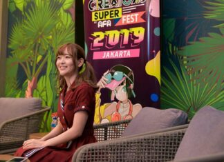 sally amaki 22/7 creators super fest 2019