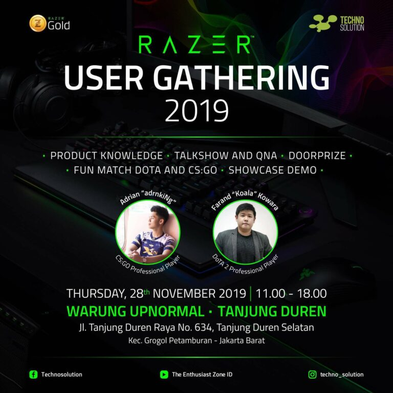 razer user gathering 2019