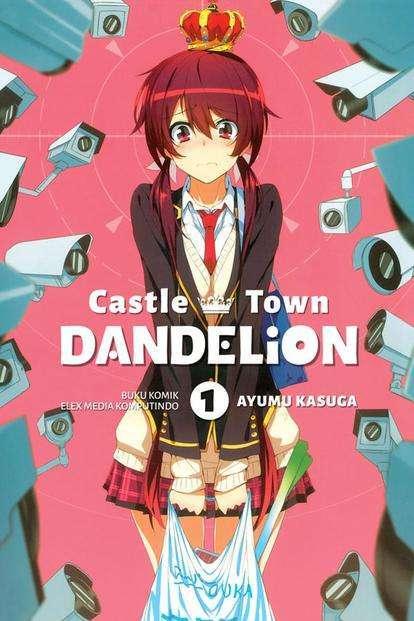 castle town dandelion joukamachi no dandelion