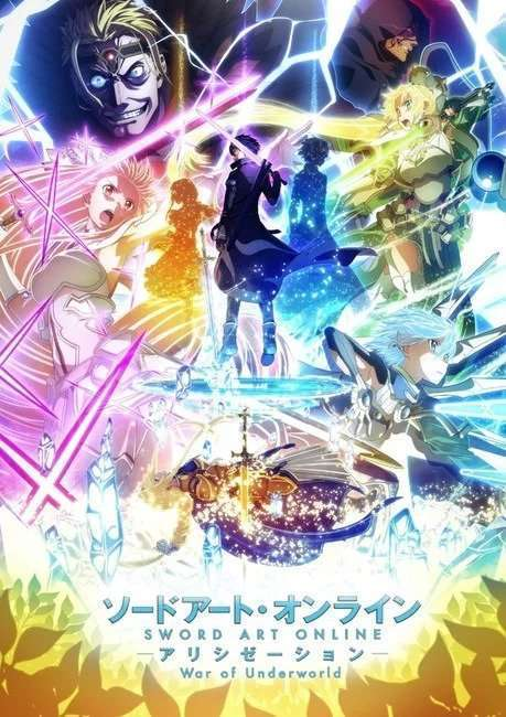 anime sword art online war of underworld