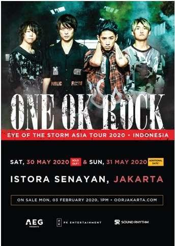 konser one ok rock indonesia virus korona covid-19