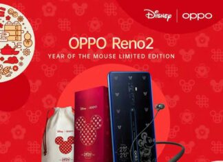Reno2 Year of the Mouse Limited Edition
