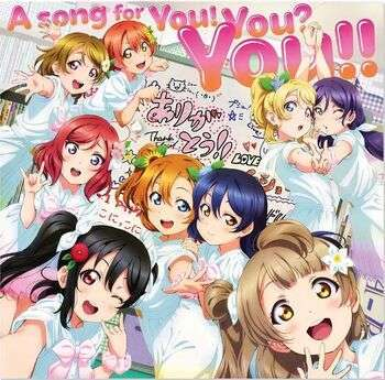 love live μ's a song for you! you? you!!!