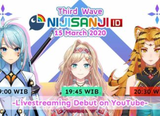 Nijisanji id third wave