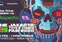 jakarta toys and comic fair
