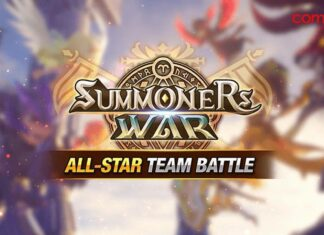Summoners War All-Star Team Battle