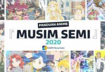 panduan anime musim semi sprng 2020