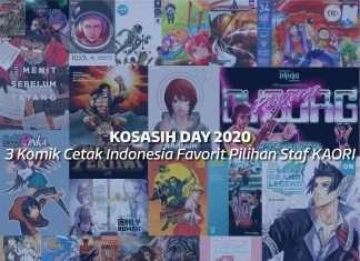 Komik Indonesia Cetak Favorit Staf KAORI Nusantara