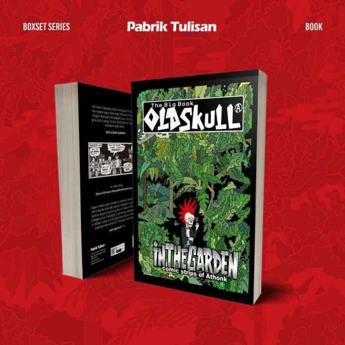 The Big Book of OLD SKULL In The Garden