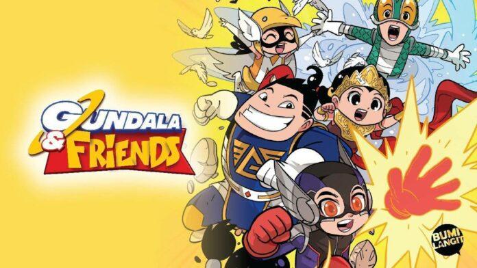 gundala and friends