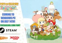 harvest moon story of seasons friends of mineral town
