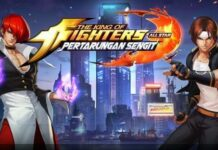 The King of Fighters AllStar - Pertarungan Sengit